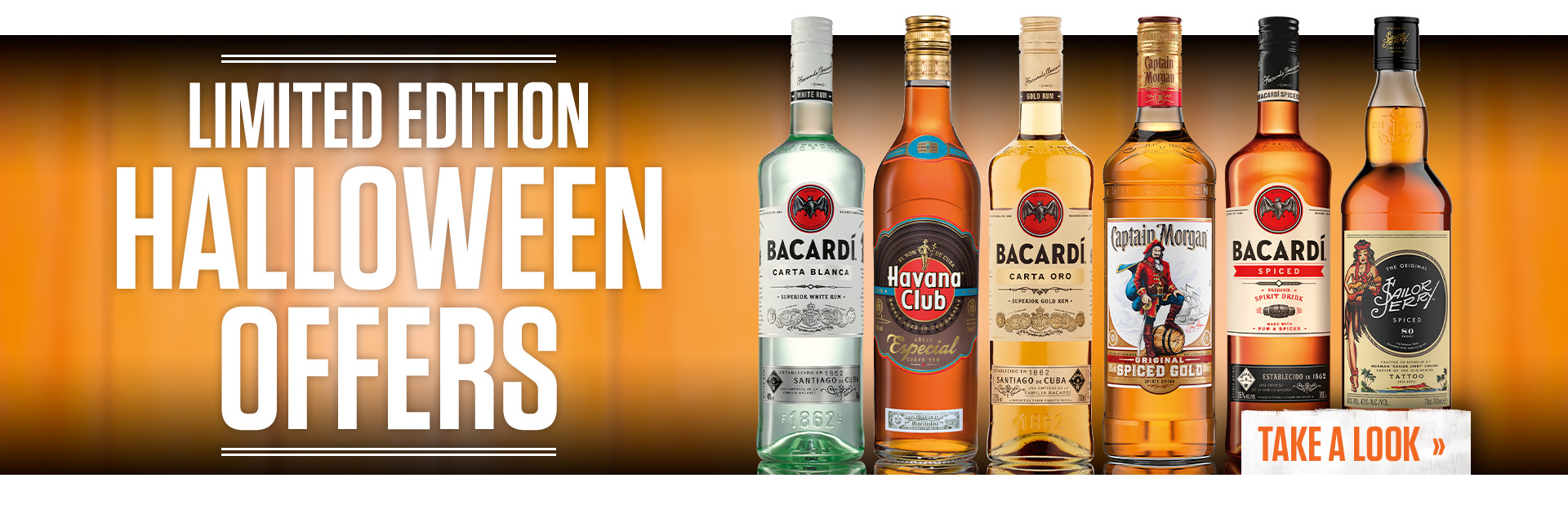 Drinks offers for Halloween at Sizzling