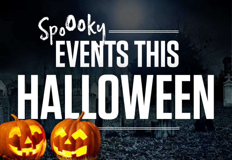 Halloween events at Sizzling