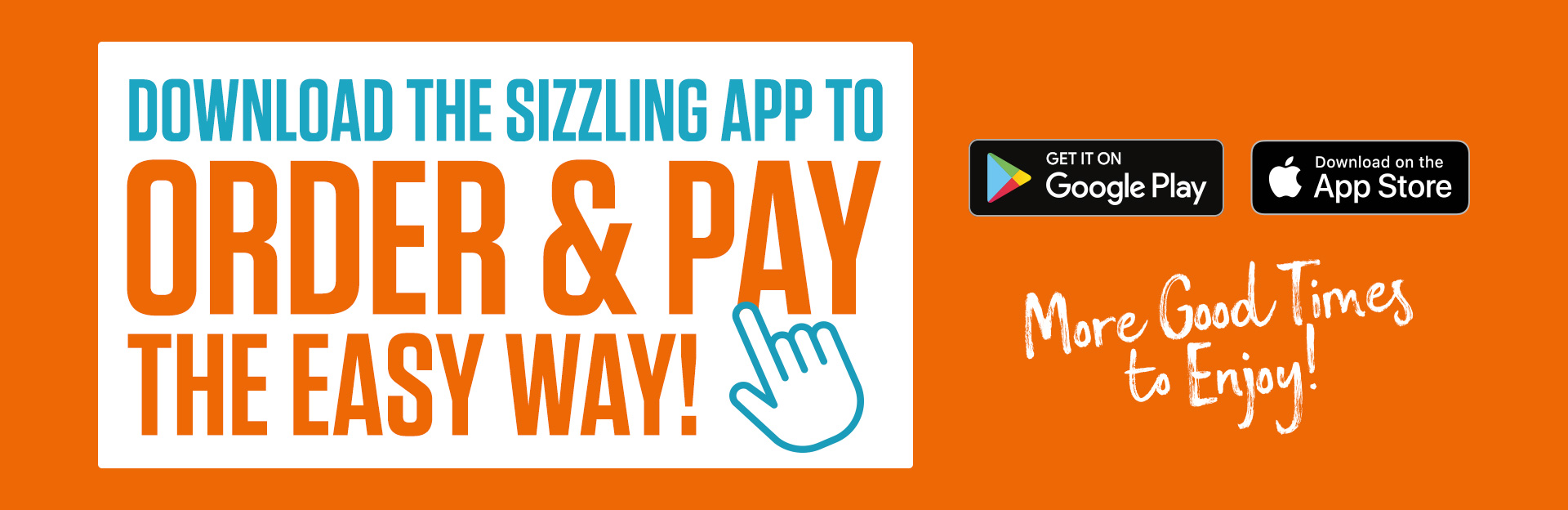 Access Great Offers & Deals on the Sizzling Pubs App!