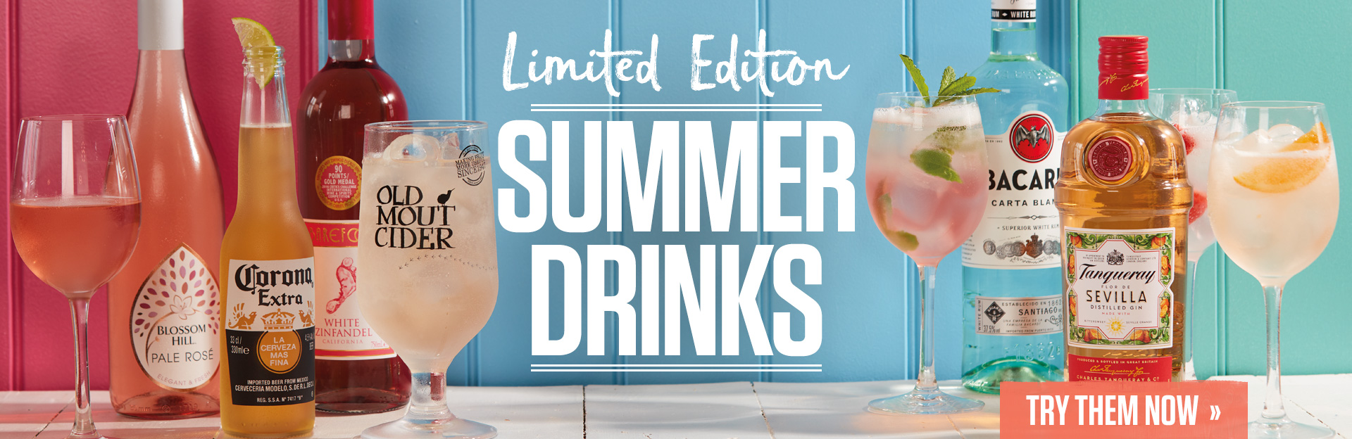 Summer Drinks at The Three Horse Shoes