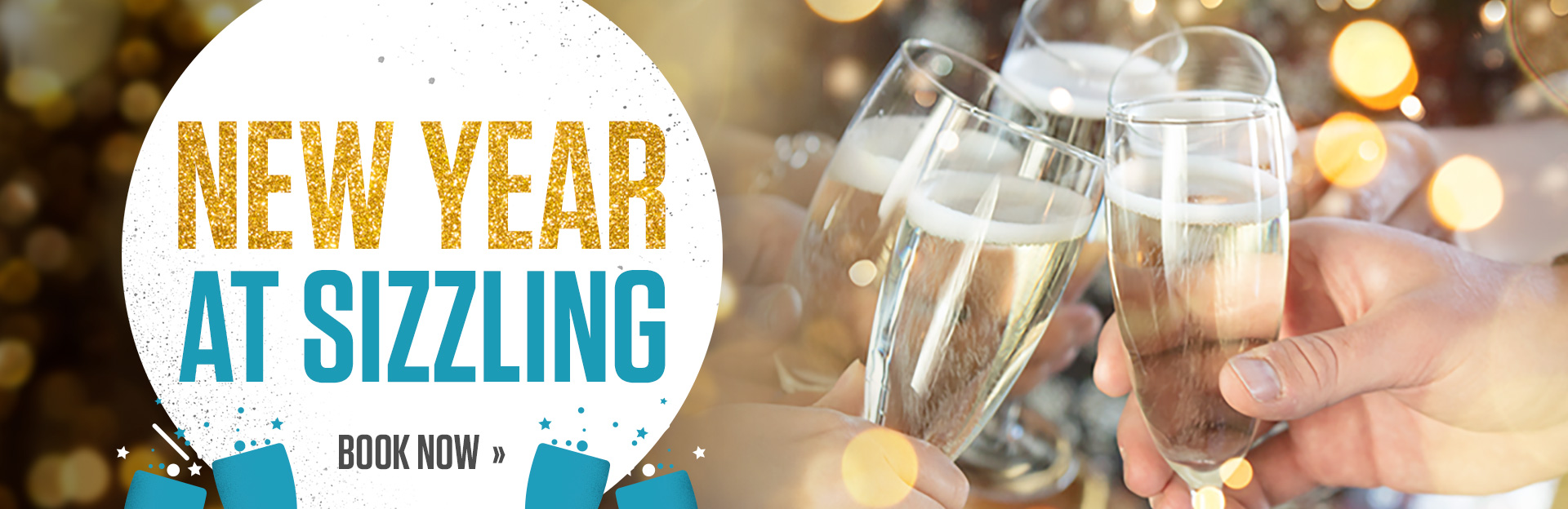 New Year's Eve at Sizzling Pub and Grill
