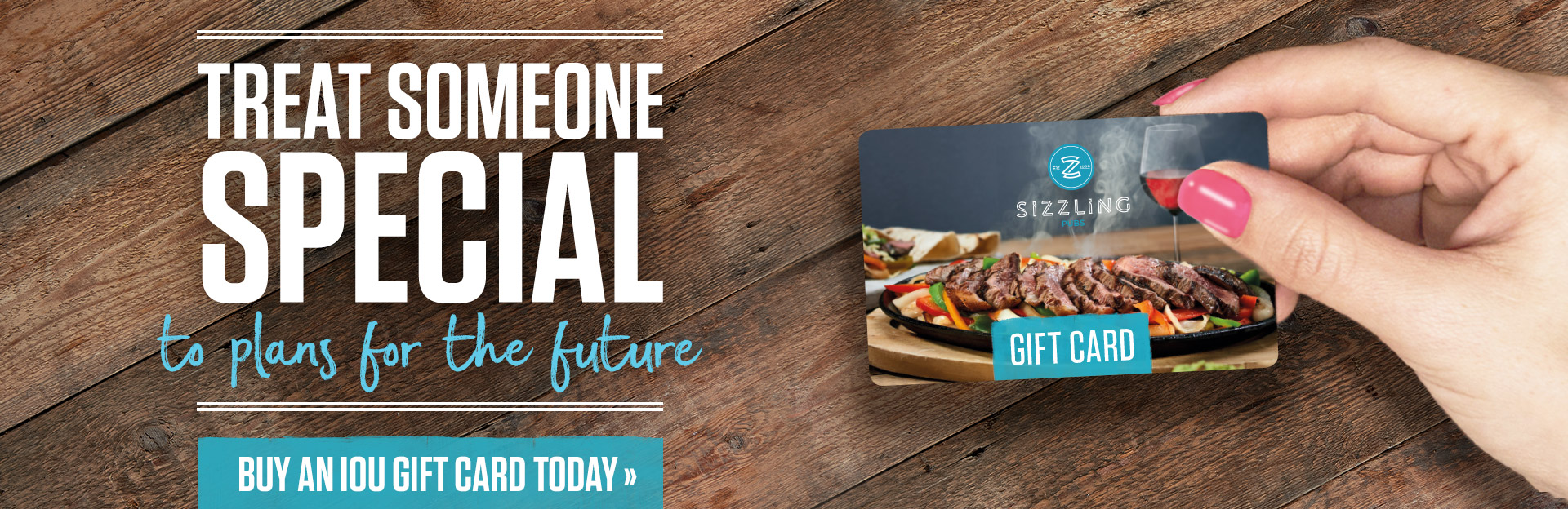 Sizzling Giftcards