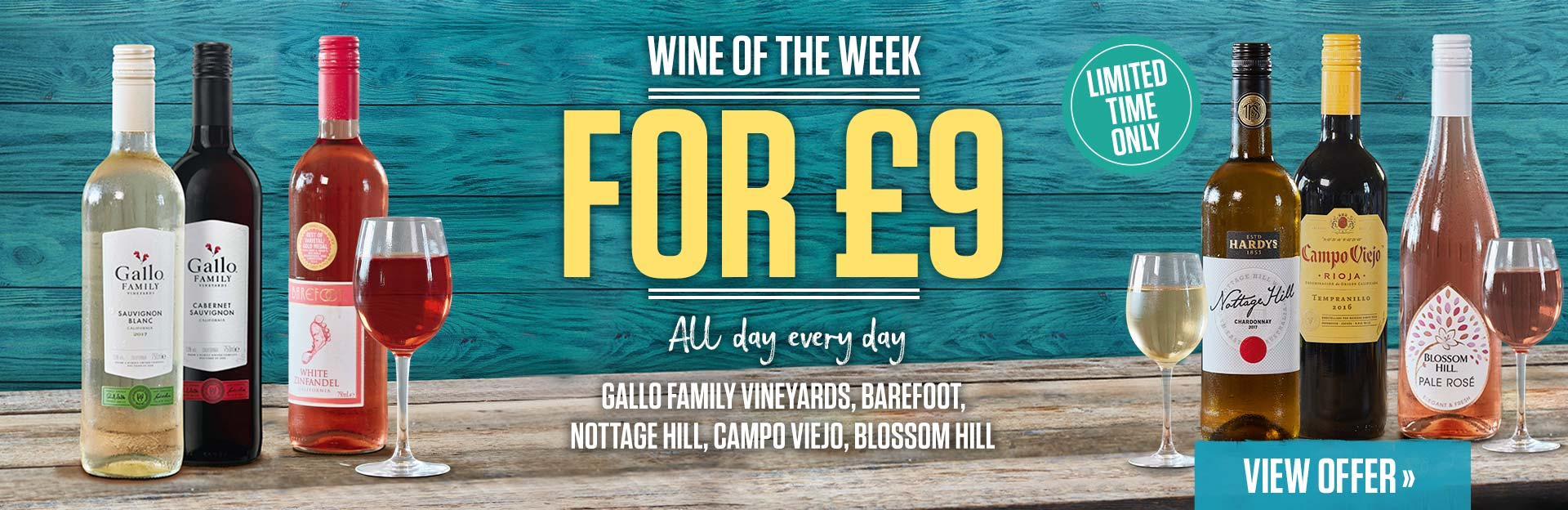 Weekly wine at The Woolpack