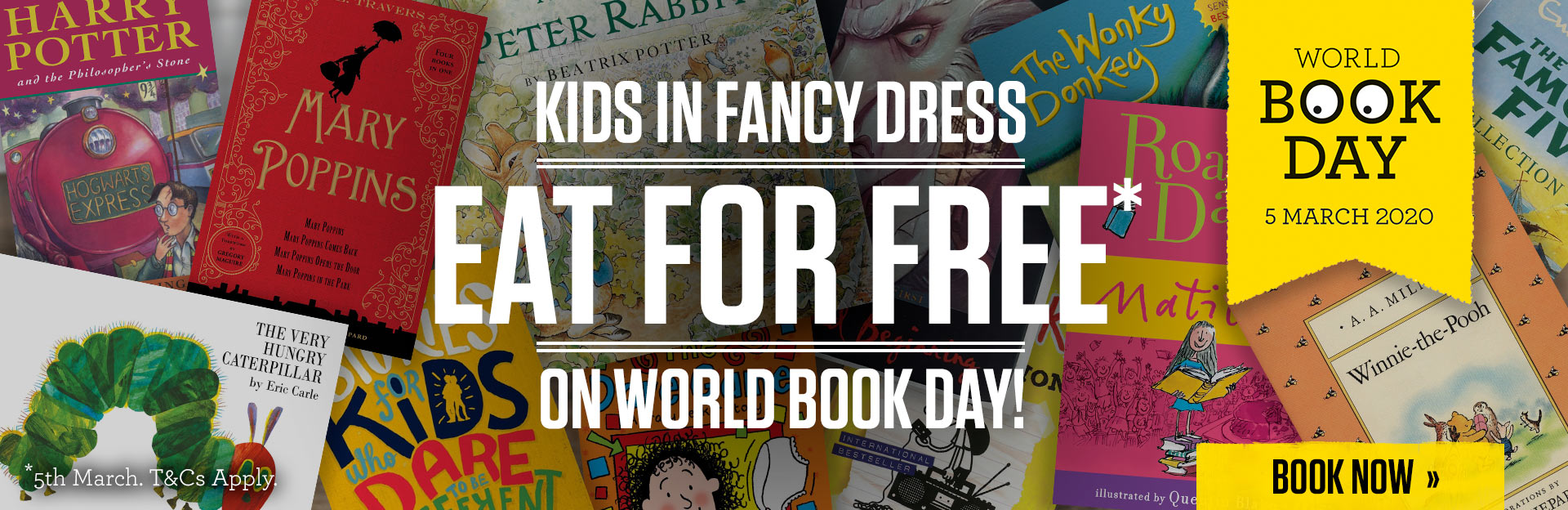 World Book Day at Sizzling Pubs