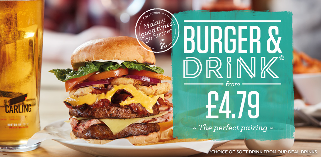 Everyday Burger Deal