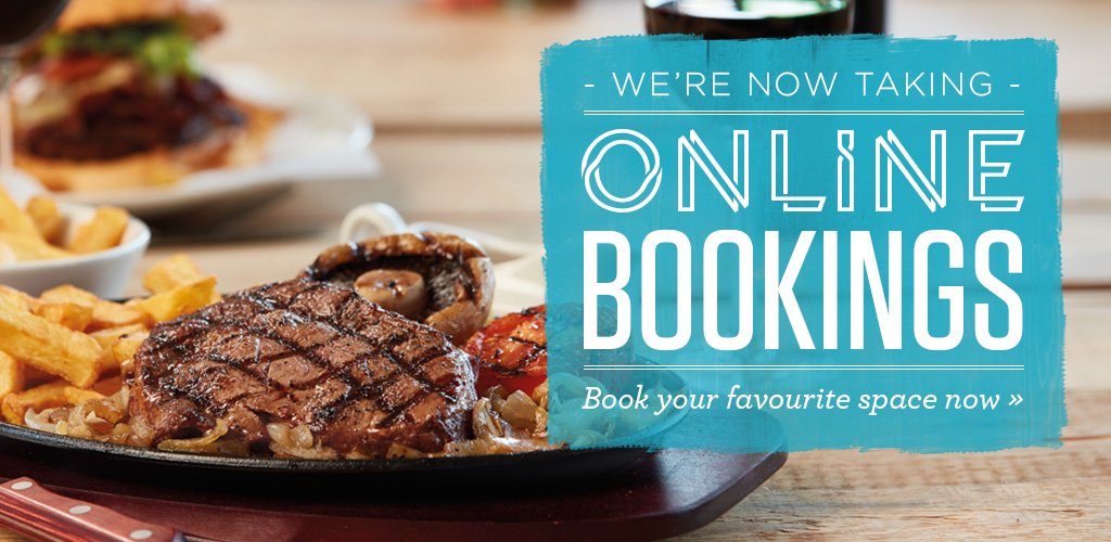 Book a table at Sizzling Pubs