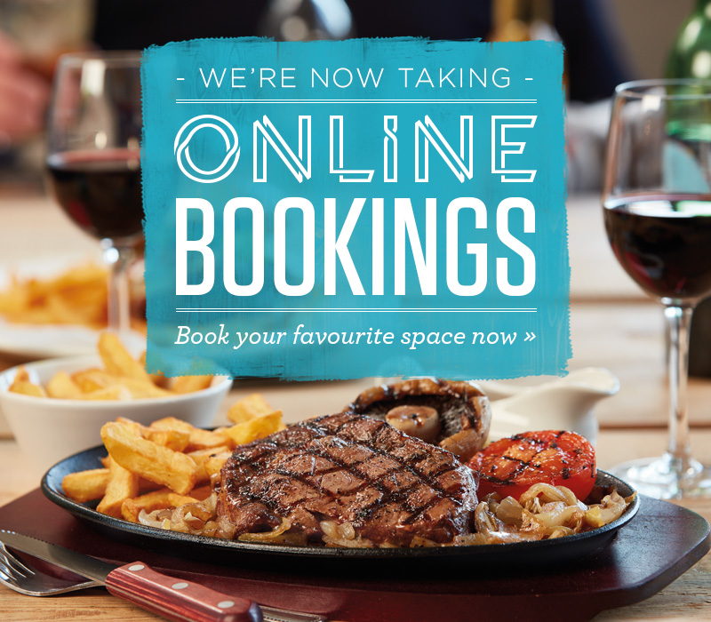 Book Online at The Merry Hill