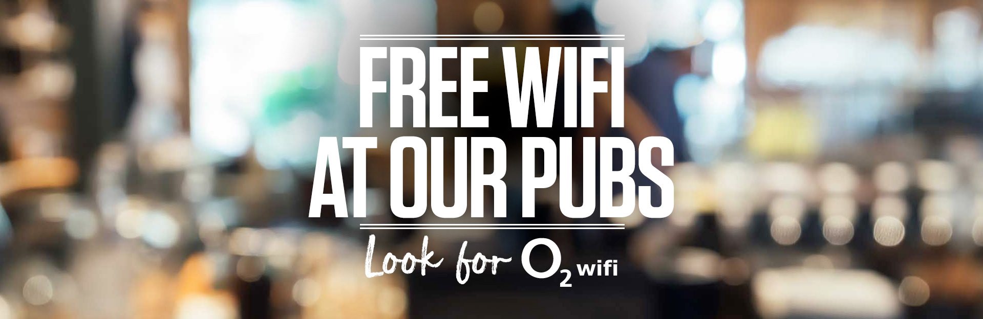 Free Wifi at Sizzling Pubs