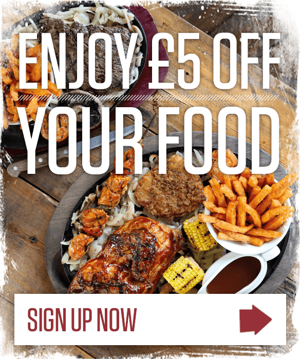 Enjoy £5 off