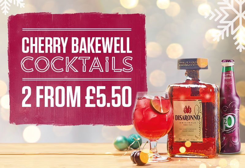 Cherry Bakewell Cocktails