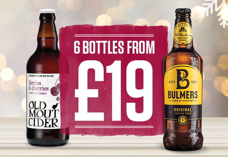 Old Mout and Bulmers
