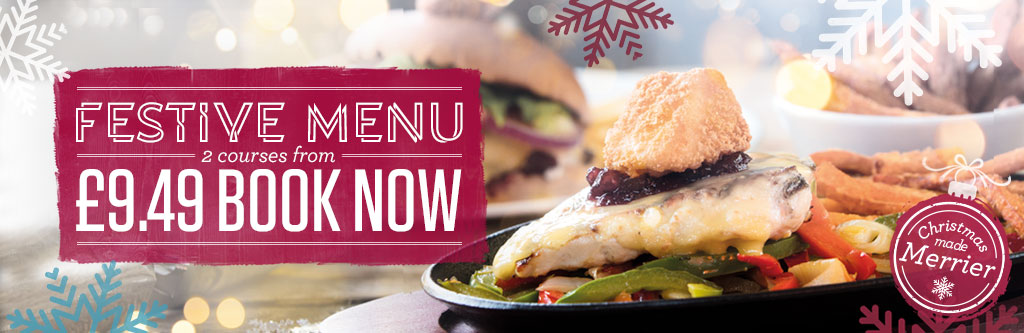 Book now for Festive Menu at The Sherwood