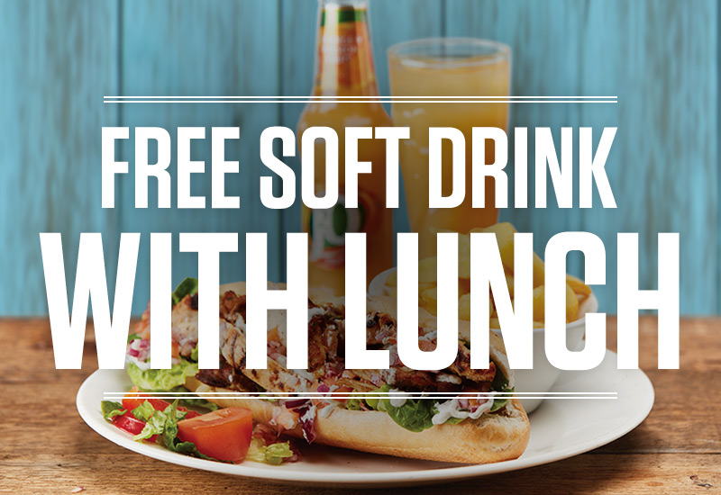 Lunch Deal at The Painted Lady