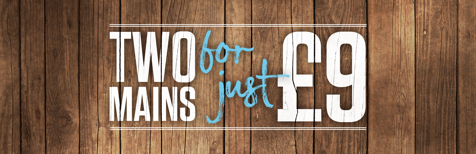 Two Meals Deal at Red Lion