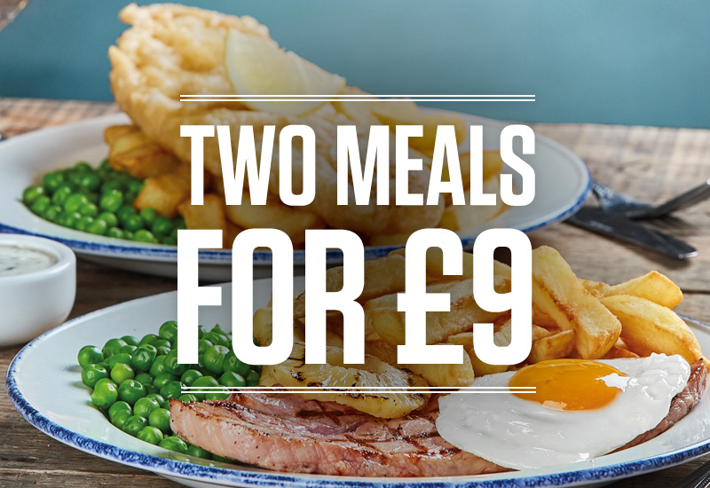 Two meals offer