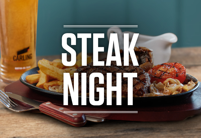 Steak Night at Sizzling Pubs