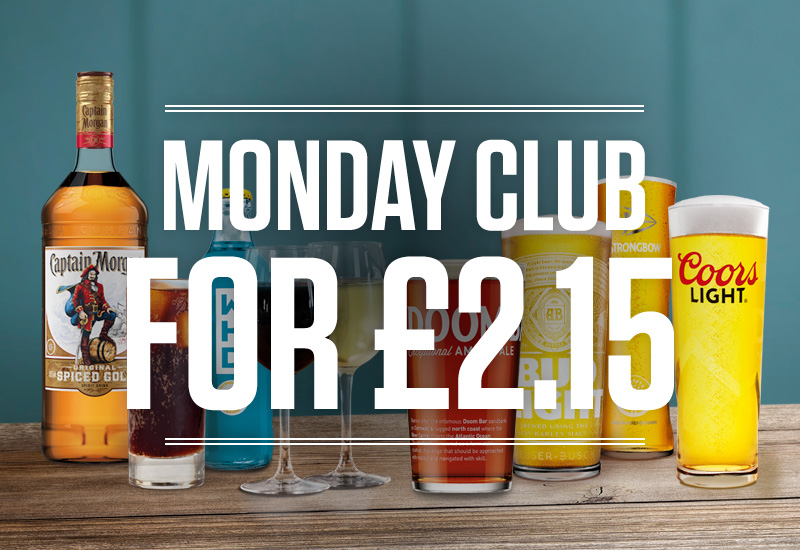Monday Club at The Coundon Hotel