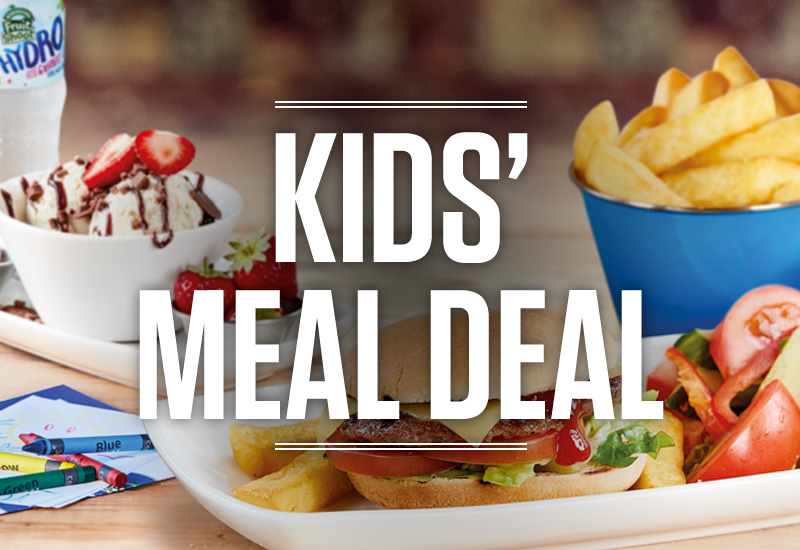 Kids Meal Deal at The Three Horse Shoes