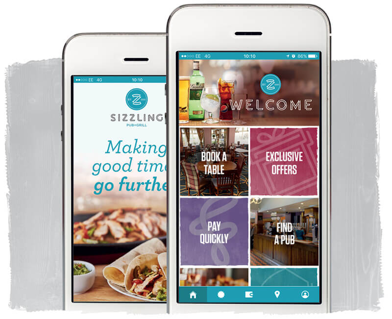 Sizzling app
