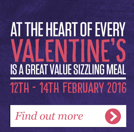 Valentine's Day at Sizzling