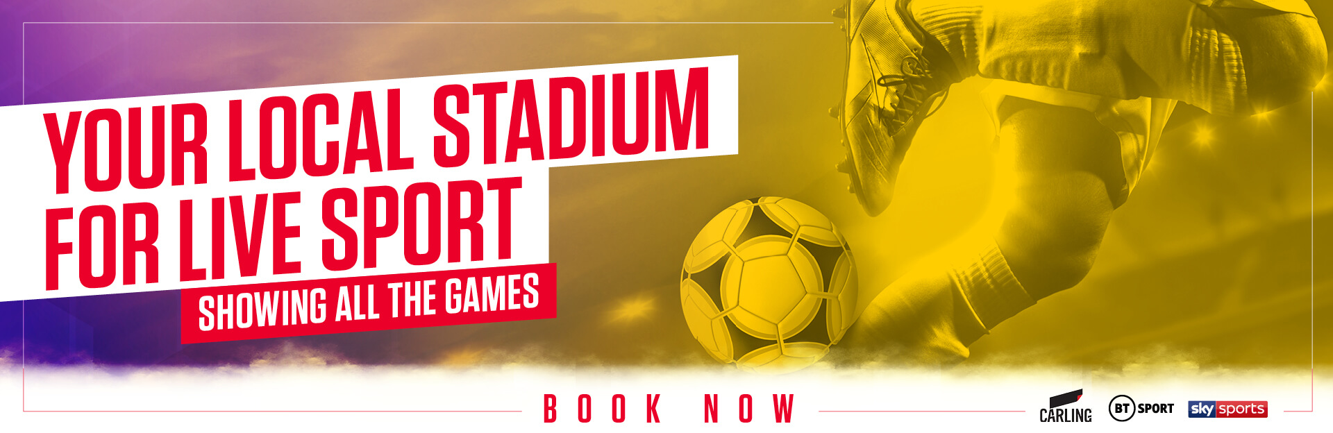 Live Sports at The Merebrook